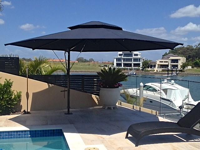 pool umbrellas 5 year umbrella warranty tropicover. Black Bedroom Furniture Sets. Home Design Ideas